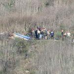 Les corps des victimes du crash récupérés, Kobe Bryant officiellement