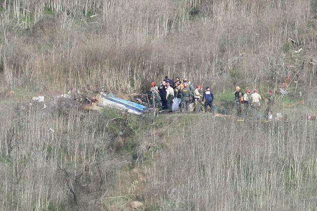 Les corps de Kobe Bryant et des huit autres victimes du crash