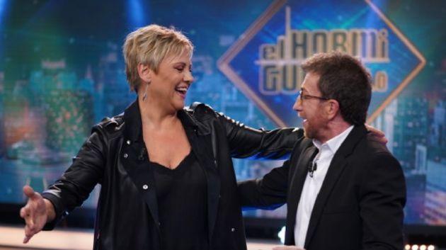 Gloria Serra y Pablo Motos en 'El