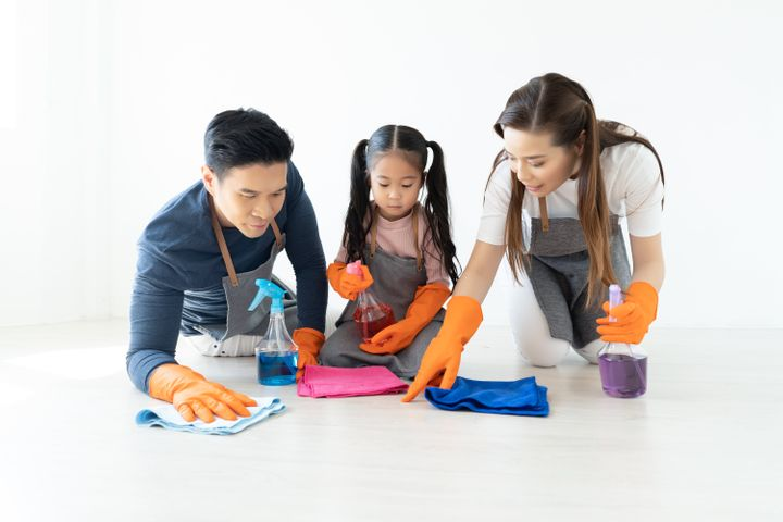 If you don't want kids to grow up thinking women do all the cleaning, you'll need to model that behaviour at home.