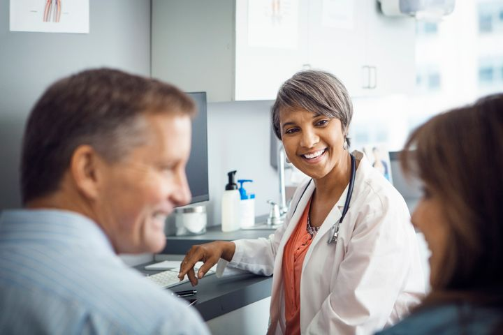 Offering to find a doctor or dentist for your partner, and setting up an appointment for them, can get the ball rolling.