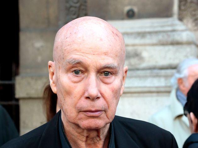 Gabriel Matzneff, ici à Paris le 10 avril