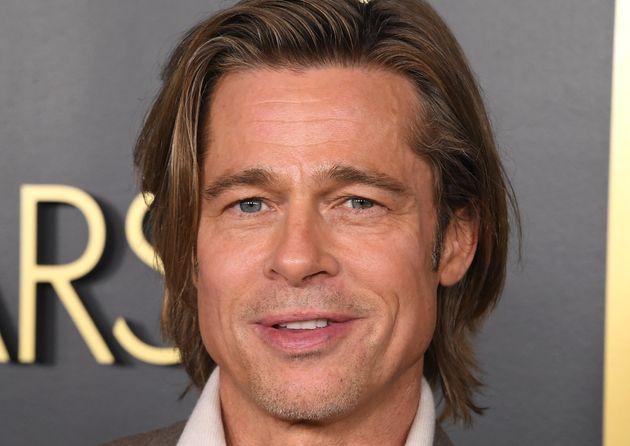 Brad Pitt, a su llegada al almuerzo de nominados a los Oscar el 27 de enero de 2020 en Hollywood,
