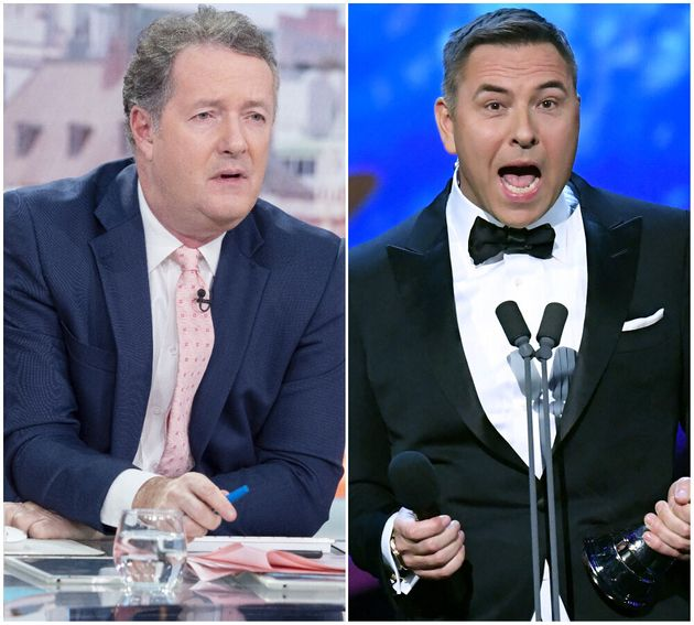 Piers Morgan Labels David Walliams A D***head After Annoying and Smug NTAs Presenting Debut