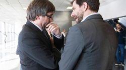 Puigdemont y Comín retiran su solicitud para entrar en el grupo de los Verdes/ALE en la
