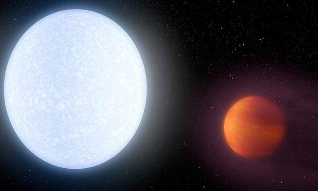 Sur la plus chaude des exoplanètes, la température dépasse 4000°C