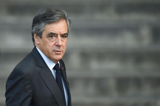 François Fillon lors des funérailles de Jacques Chirac le 30