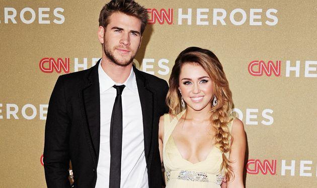 Liam y Miley en un evento en