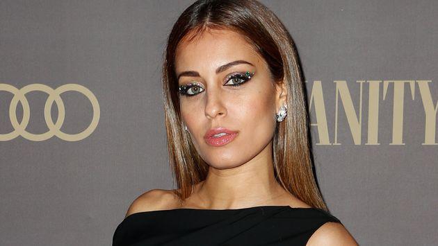 La actriz Hiba Abouk, en un evento de 'Vanity Fair' el 25 de noviembre de