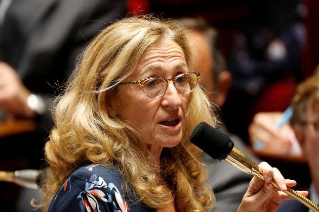 La ministre de la Justice, Nicole Belloubet, le 17 septembre 2019 à l'Assemblée