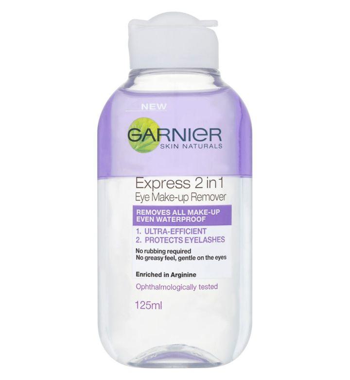 Garnier Skin Naturals 2in1 Eye Make-up Remover, Boots