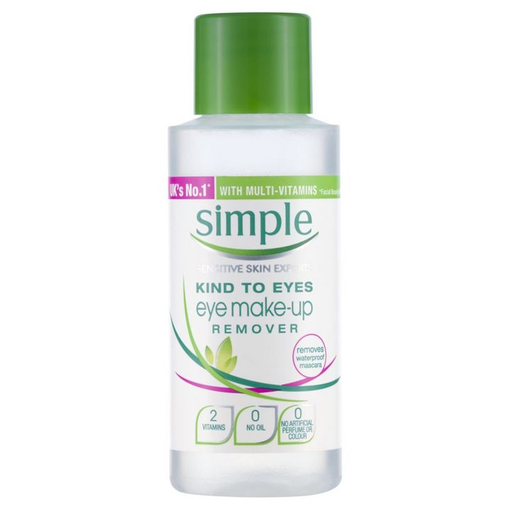 Simple Kind to Eyes Eye Make Up Remover, Boots