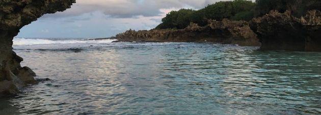 Isla Christmas, Océano