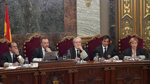 El tribunal del 1-O presidido por el magistrado Manuel