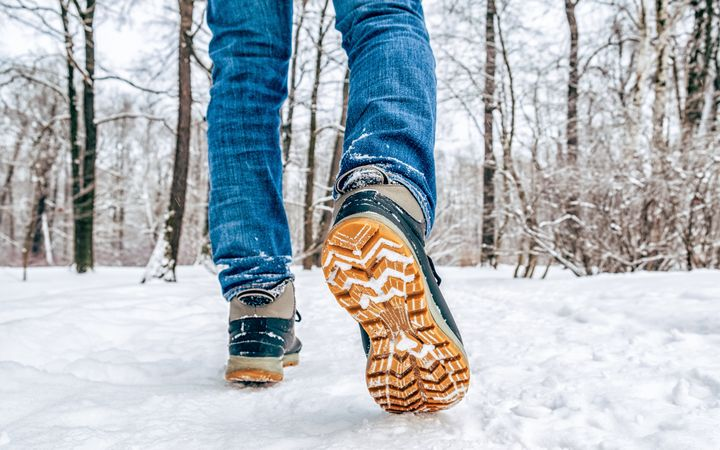 Make sure you have a solid pair of hiking boots that have good ankle support.