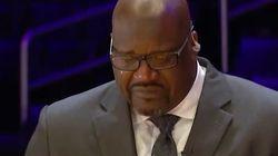 Shaquille O'neal rompe a llorar recordando a Kobe Bryant: