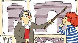 Christo s'intéresse à l'Arc de Triomphe, il emballe les