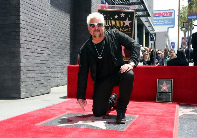 Guy Fieri has become so famous that he earned a star on the Hollywood Walk of Fame on May 22, 2019, in...