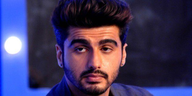 Indian Bollywood actor Arjun Kapoor poses for a photograph during a promotional event in Mumbai on late...