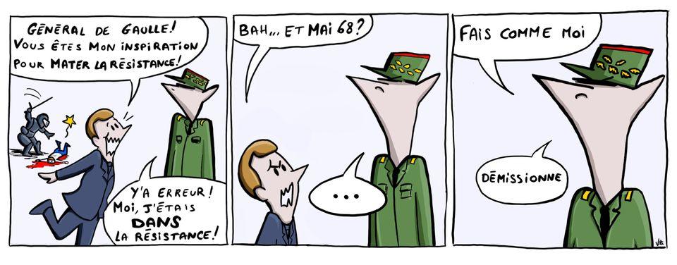 Pour sa deuxième partie de mandat, Emmanuel Macron cherche l'inspiration.