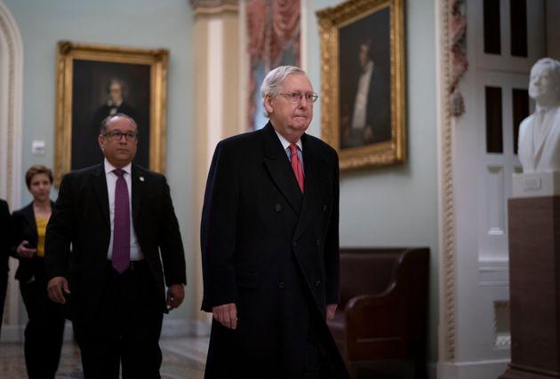 Senate Republicans Block Witnesses In Trump's Impeachment Trial