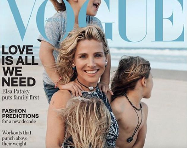 La portada de Vogue