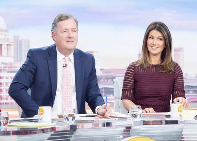 Piers Morgan Reveals He Does Not Have Coronavirus After Undergoing Test