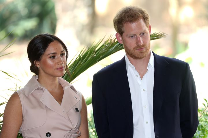 Meghan Markle and Prince Harry, pictured in Johannesburg during their South African tour, are currently living in B.C. with their son, Archie.