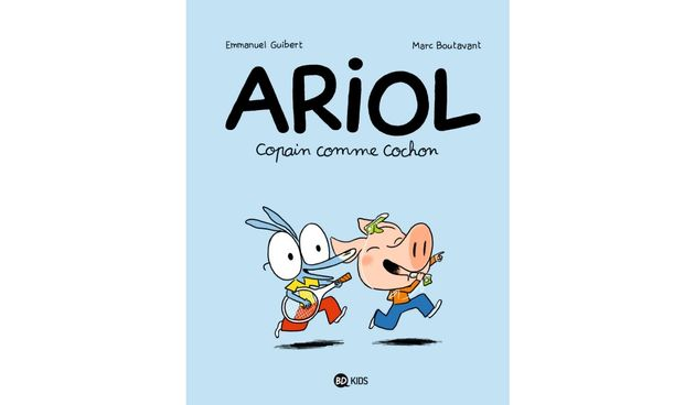 Emmanuel Guibert a écrit le scénario de la série pour enfants