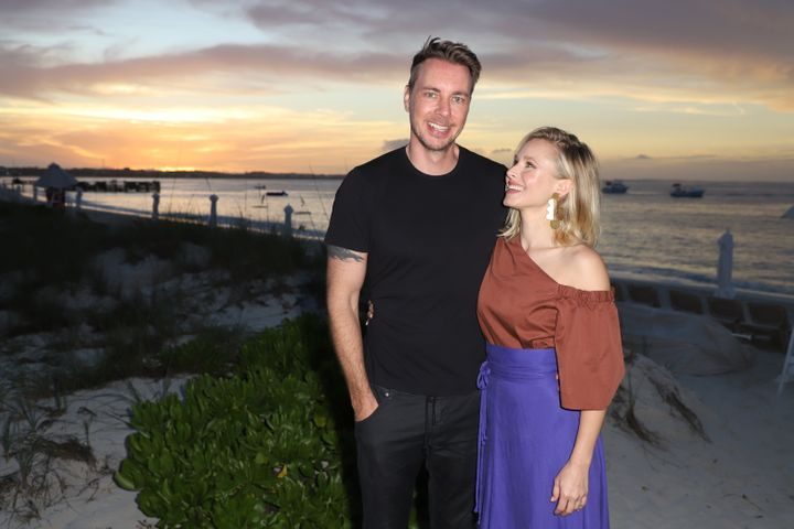 Dax Shepard and Kristen Bell have been married for six years.