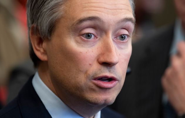 Foreign Affairs Minister Francois-Philippe Champagne in Ottawa on Jan. 28,