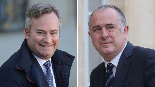 Le secrétaire d'État au Tourisme Jean-Baptiste Lemoyne, ici le 6 janvier à l'Élysée, et le ministre de...