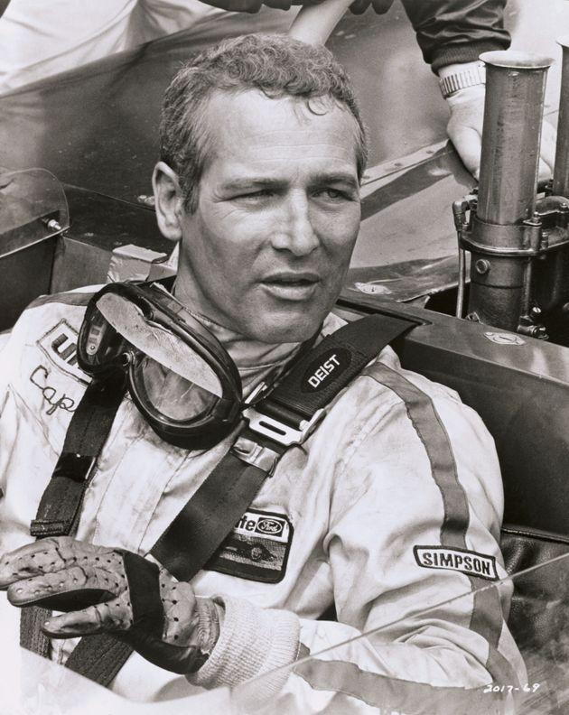 """Paul Newman en """"Winning"""", una película universal sobre carreras"""