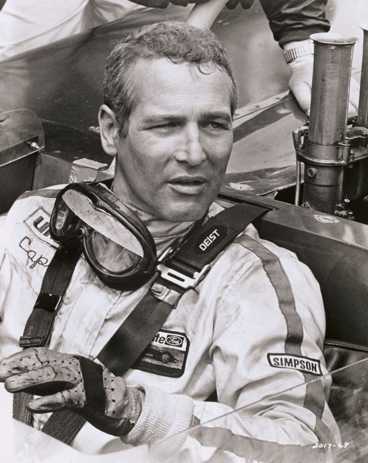 "Paul Newman in ""Winning,"" a Universal film about racing drivers."