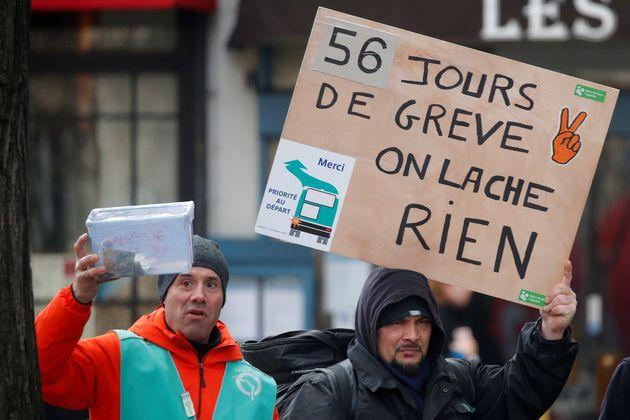 Le 29 janvier 2020, la 7e journée de mobilisation nationale contre la réforme des retraites...