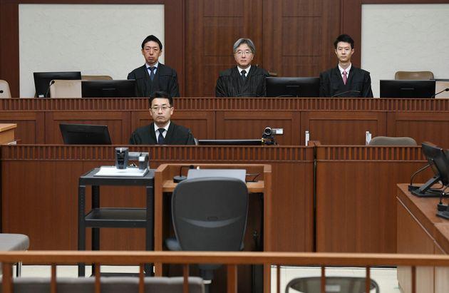 相模原殺傷/横浜地裁の101号法廷