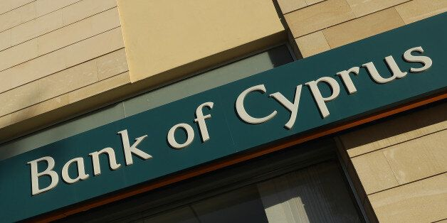 NICOSIA, CYPRUS - MARCH 05: A local branch of Bank of Cyprus stands on March 5, 2017 in Nicosia, Cyprus....