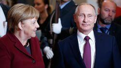 Ουκρανία και προσάρτηση της Κριμαίας «σκιά» στη συνάντηση Πούτιν με Μέρκελ στο