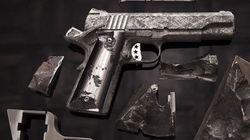 Πιστόλι αξίας 4,5 εκατομμυρίων δολαρίων κατασκευασμένο από μετεωρίτη 4,5 δισεκατομμυρίων
