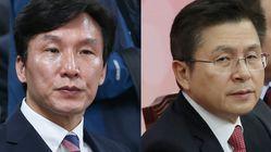 김민석이 황교안 대표에게 '영등포을'에서 붙자며