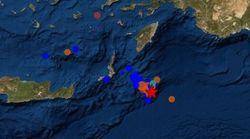 Σεισμοί 5,1 και 4 Ρίχτερ ανοιχτά της