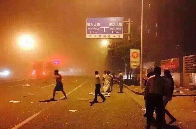Έκρηξη πρωτοφανούς ισχύος σε πόλη της Κίνας. Νεκροί και εκατοντάδες