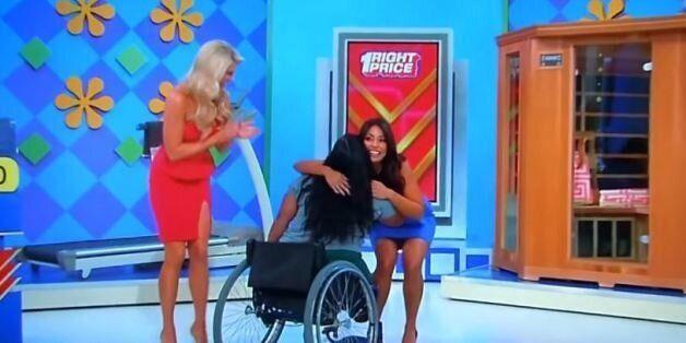 Τηλεπαιχνίδι χάρισε διάδρομο γυμναστικής σε γυναίκα που κινείται με αναπηρικό
