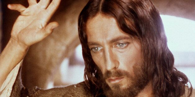 THE BIG EVENT -- 'Jesus of Nazareth' -- Pictured: Robert Powell as Jesus Christ -- (Photo by: NBC/NBCU...