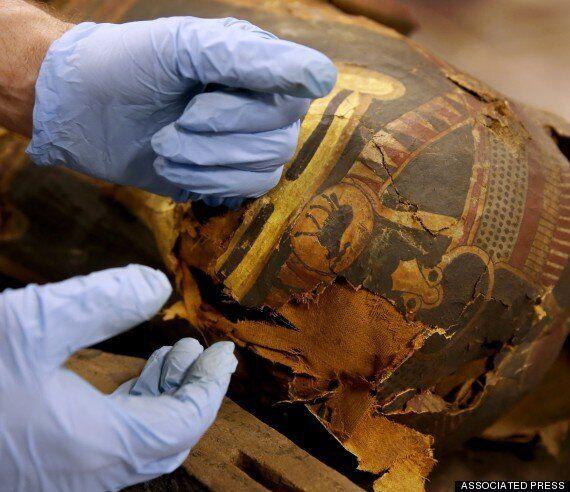 Άνοιξαν σαρκοφάγο 2500 ετών-Αντιμέτωποι με την αιγυπτιακή