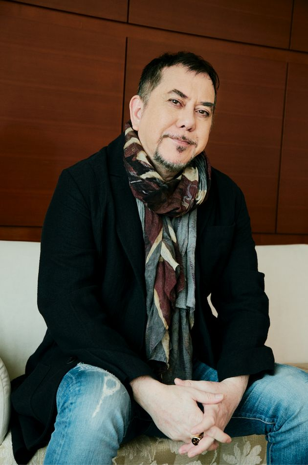 映画『インファナル・アフェア』(2002年)などで知られる、香港を代表するスター俳優の一人、アンソニー・ウォンさん
