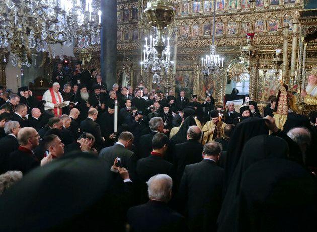 Κοινή διακήρυξη Οικουμενικού Πατριάρχη Βαρθολομαίου και Πάπα Φραγκίσκου για ειρήνευση στη Μ.