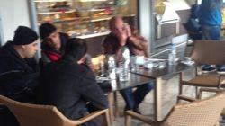 Μιχελογιαννάκης: Από την απεργία πείνας... σε καφετέρια στο