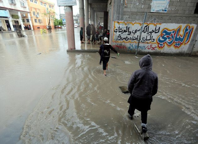 Σε κατάσταση έκτακτης ανάγκης η Γάζα λόγω πλημμύρας - Απελπιστική κατάσταση για τους κατοίκους
