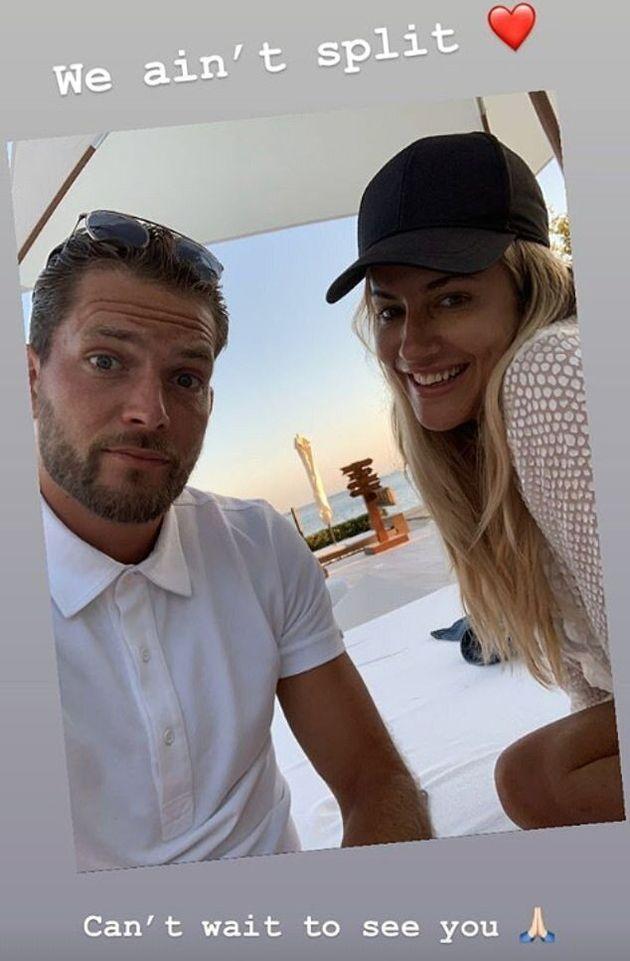 Caroline Flacks Boyfriend Lewis Burton Addresses Split Rumours On Instagram